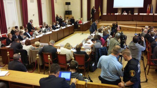 Sesja rady miasta tvnwarszawa.pl