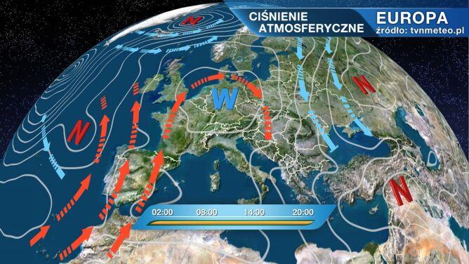 Ciepłe i suche powietrze napływa do Polski