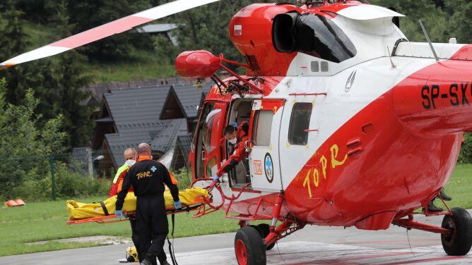 Poważny wypadek w Tatrach. Mężczyzna w szpitalu