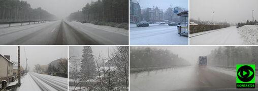 """Sypie na Dolnym Śląsku. """"Zima zaskoczyła Wałbrzych"""""""