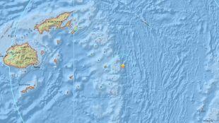 Trzęsienie ziemi w pobliżu Fidżi. Miało magnitudę 8.2