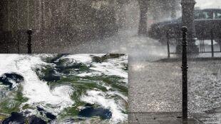 """To jeszcze nie koniec ulew. """"Struktura chmur przypomina cyklon tropikalny"""""""