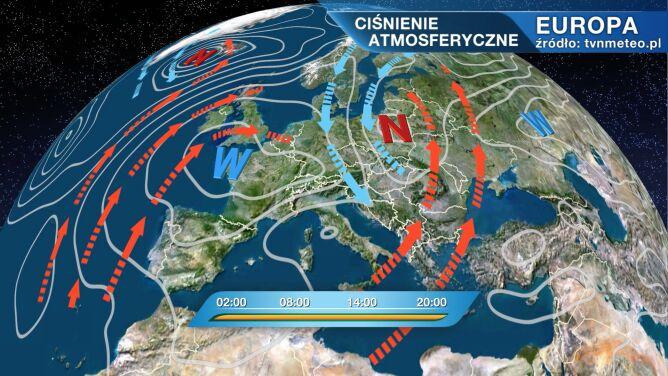 Yvette będzie rządzić pogodą w Polsce