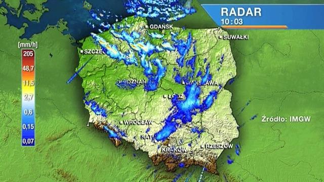 Mapa Mapa Radarowa