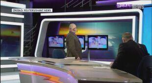 Trwa program telewizyjny, wszystko zaczyna drżeć. Nagranie z momentu trzęsienia ziemi w Armenii